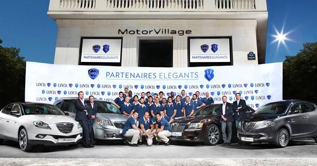 Lancia s'associe au Stade Français Paris pour la saison 2012-2013