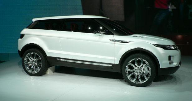 Land Rover LRX : le Freelander Sport en filigrane