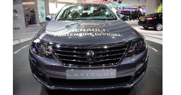 La Renault Latitude transportera les stars à Cannes