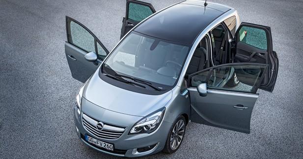Un nouveau Diesel 1.6 CDTI 95 ch pour l'Opel Meriva