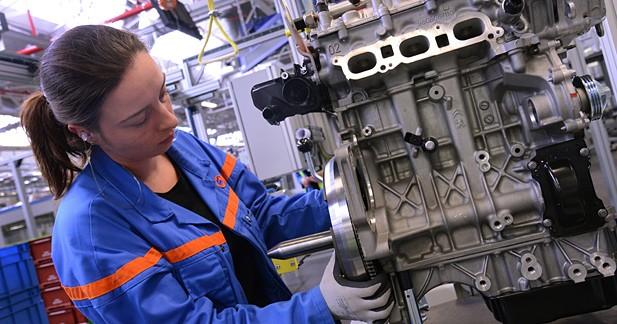Lancement de la production du 3 cylindres turbo PSA