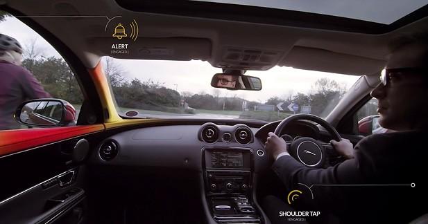 Une nouvelle technologie signée Jaguar protège les cyclistes