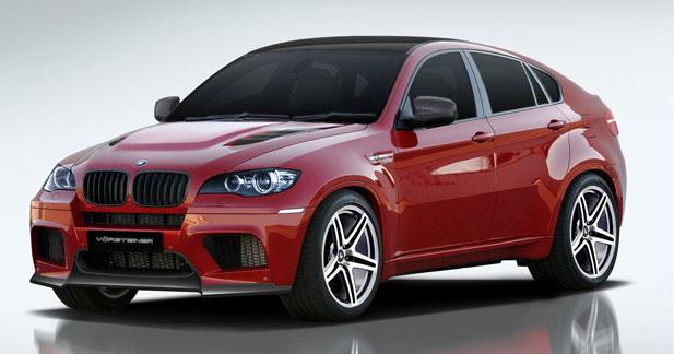 Le BMW X6M par Vorsteiner