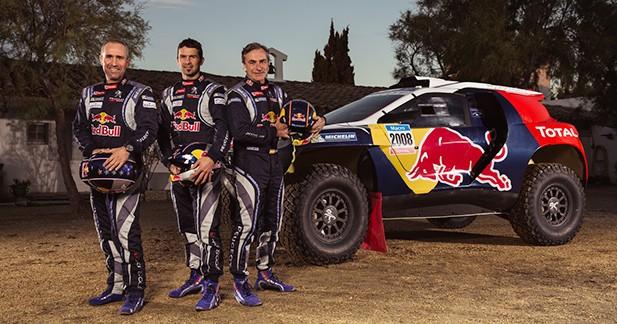 Officiel : Peugeot dévoile la version définitive du 2008 DKR