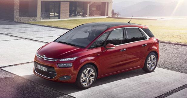 Citroën C4 Picasso : à partir de 23 050 euros