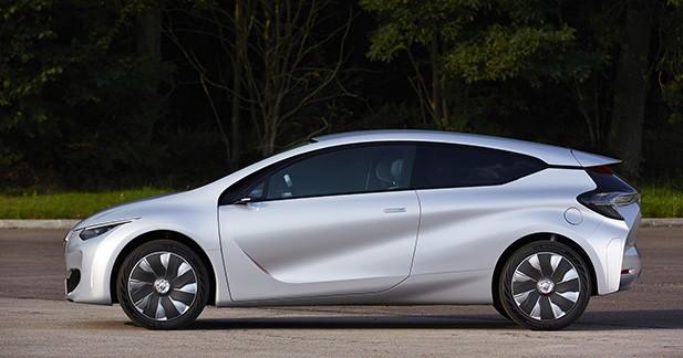 Un hybride néanmoins plus gourmand que le concept