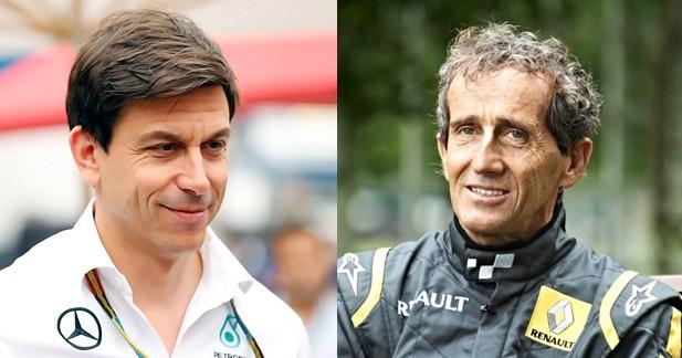 Quand Alain Prost conseilla Mercedes pour gérer la rivalité Hamilton/Rosberg
