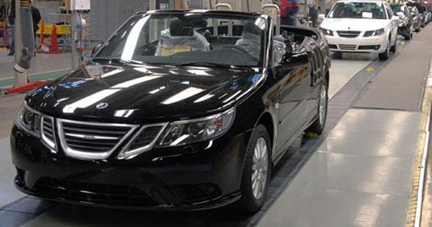 Reprise de la production chez Saab