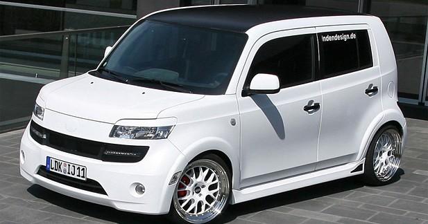 Daihatsu Materia Inden Design : cube glacé