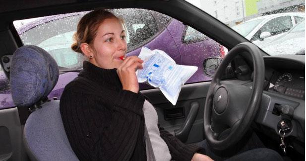 L'éthylotest obligatoire à bord des voitures dès cet été
