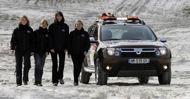 Le Dacia Duster en course au Rallye Aïcha des Gazelles