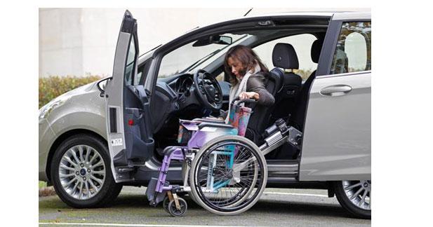 Un kit pour les handicapés à bord du Ford B-Max