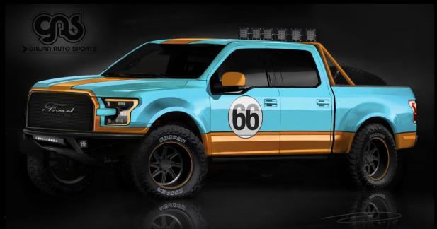Ford apportera sept F-150 préparés au SEMA Show