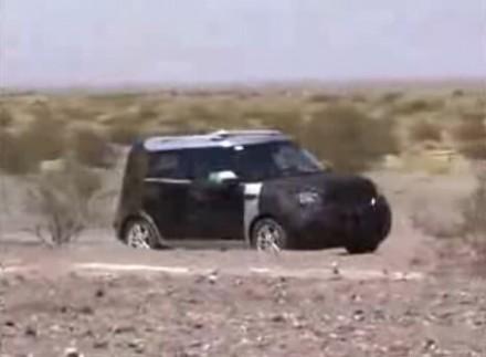 Le futur crossover Kia en vidéo