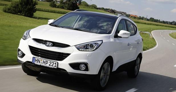 Hyundai met à jour le ix35