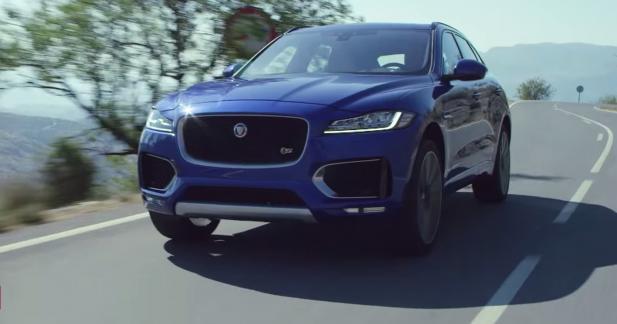 Le Jaguar F-Pace se dévoile en détails