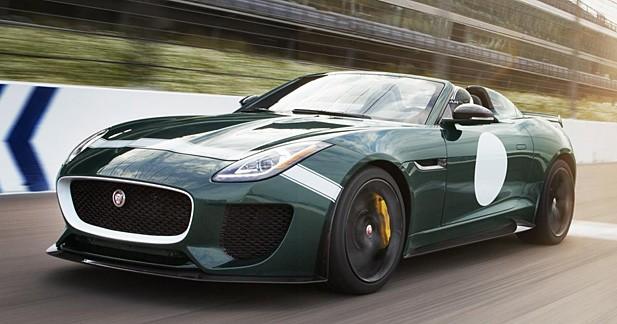 Jaguar F-Type Project 7 : une version de série produite à 250 exemplaires