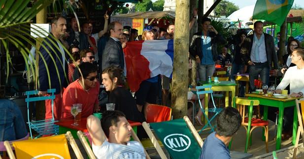 La péniche Kia Cabana a accueilli près de 35 000 personnes