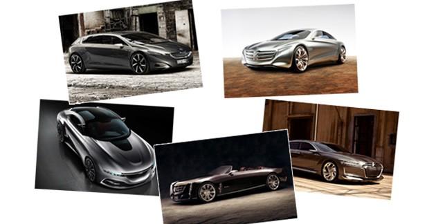 Le meilleur des concept-cars 2011