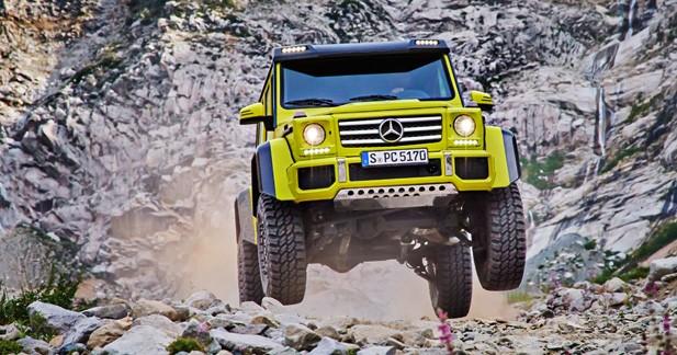 Le Mercedes G500 4x4² sera bel et bien produit!