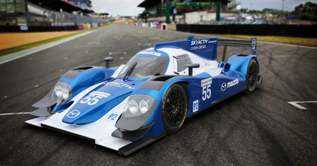 Mazda de retour en 2013 au Mans avec un moteur diesel SKYACTIV