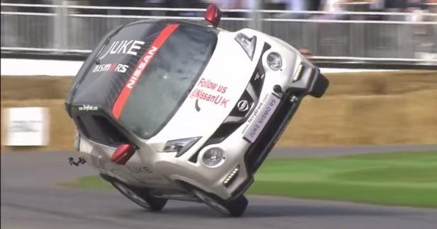 Record sur deux roues pour le Nissan Juke Nismo RS