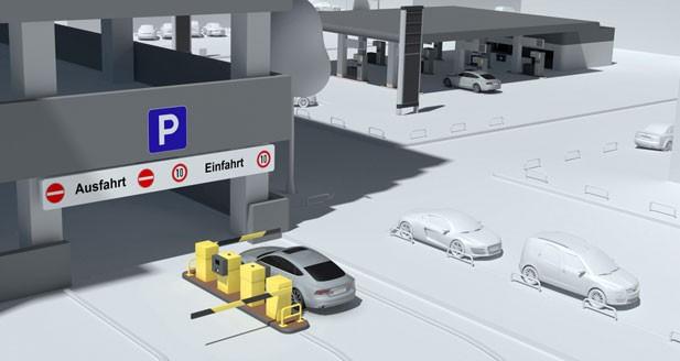Audi teste en Allemagne le paiement par carte RFID du parking
