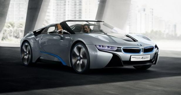 La BMW i8 Spyder se prépare