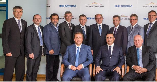 Carlos Ghosn est désormais aussi le patron de Lada