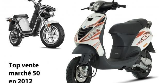 Le Piaggio Zip reste la meilleure vente 50 cm3 en 2012