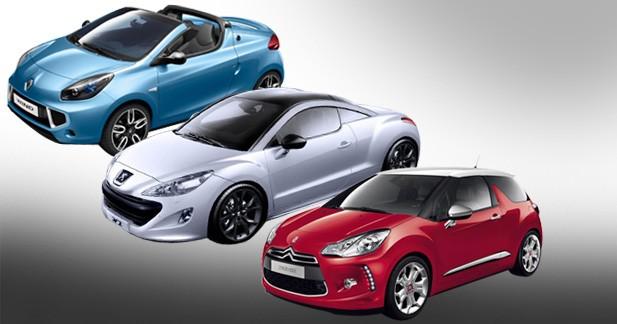 Renault Wind, Peugeot RCZ, Citroën DS3 : le renouveau tricolore !