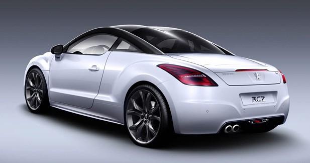 Peugeot RCZ : De faux airs de TT