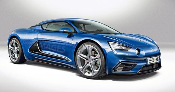 Un coupé, une hybride et un SUV dans la future famille Alpine?
