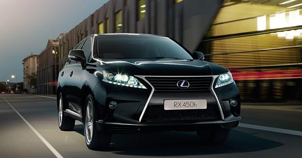 Lexus fête ses 25 ans : Série anniversaire pour le RX 450h