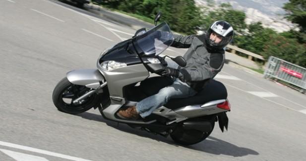 le plus sportif des scooter gt 125. Black Bedroom Furniture Sets. Home Design Ideas