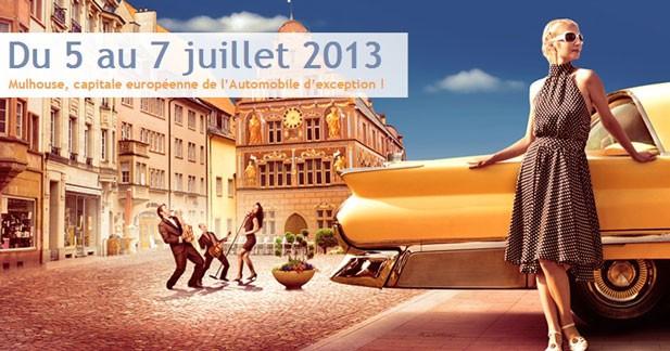 Supercars et voitures des 24 h du Mans en juillet à Mulhouse