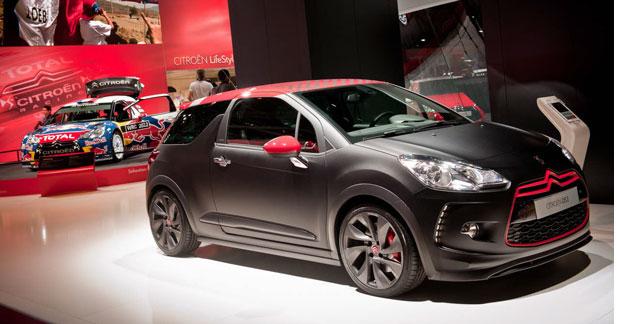 Le stand Citroën à l'heure du WRC au Mondial
