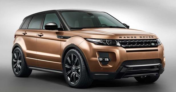 Range Rover Evoque 2014 : moins de carburant, plus de vitesses