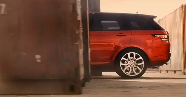Range Rover Sport : nouveau teaser vidéo