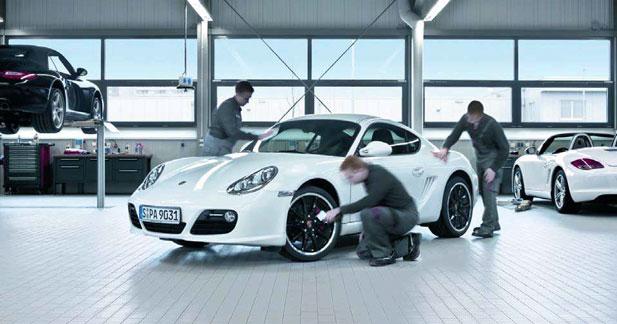Porsche est la meilleure marque allemande en termes de service