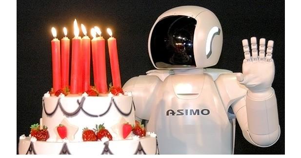 Asimo fête ses 10 ans