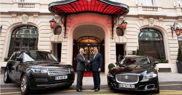 Jaguar Land Rover prend ses quartiers au Royal Monceau