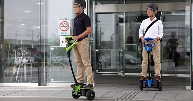 Le Winglet de Toyota entame ses essais sur la voie publique au Japon