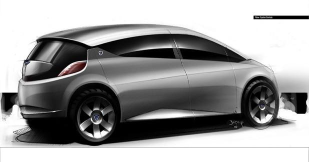 Croquis mystérieux : la prochaine Lancia Ypsilon ?