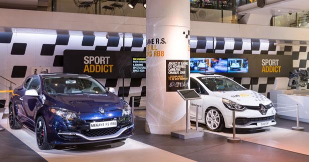 L'Atelier Renault addict au sport automobile