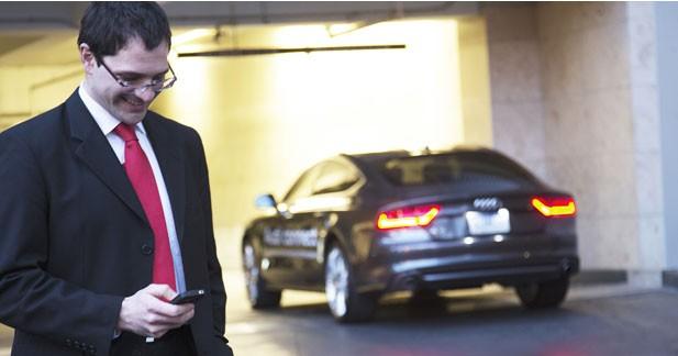 Audi distingué pour sa fonction de parking automatique