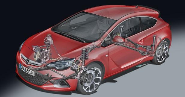 Un châssis hautes performances pour l'Opel Astra OPC