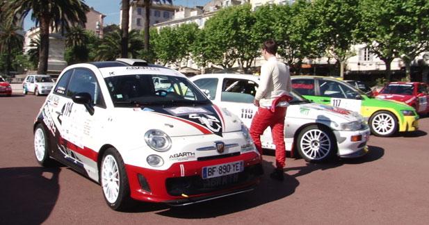 Le Tour de Corse IRC 2012 avec Abarth