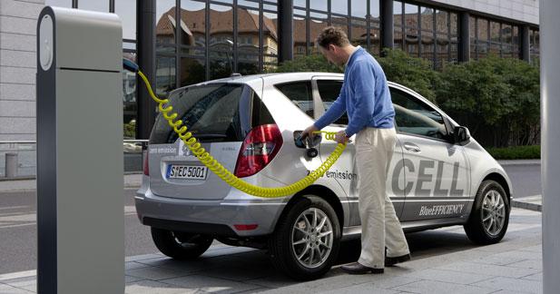 Pourquoi Daimler attend 2012 pour lancer en série ses modèles électriques
