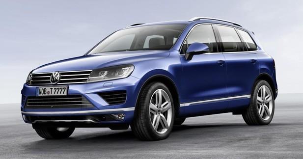 Volkswagen Touareg restylé : cure de sobriété